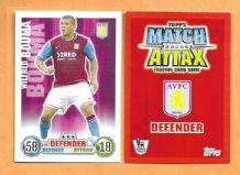 Aston Villa Wilfred Bouma Holland 08